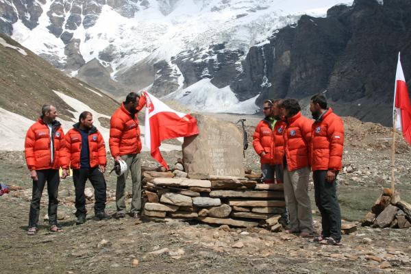 Ekipa wyprawy na Nanda Devi East 2019